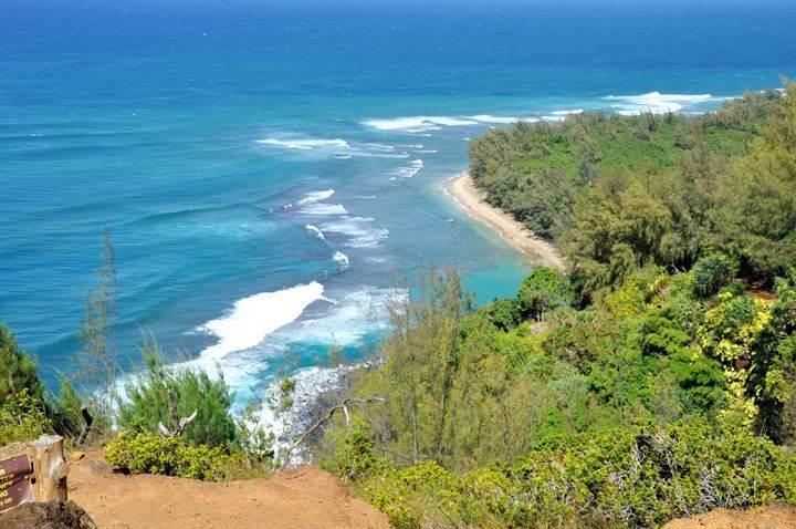 Kee Beach Hawai