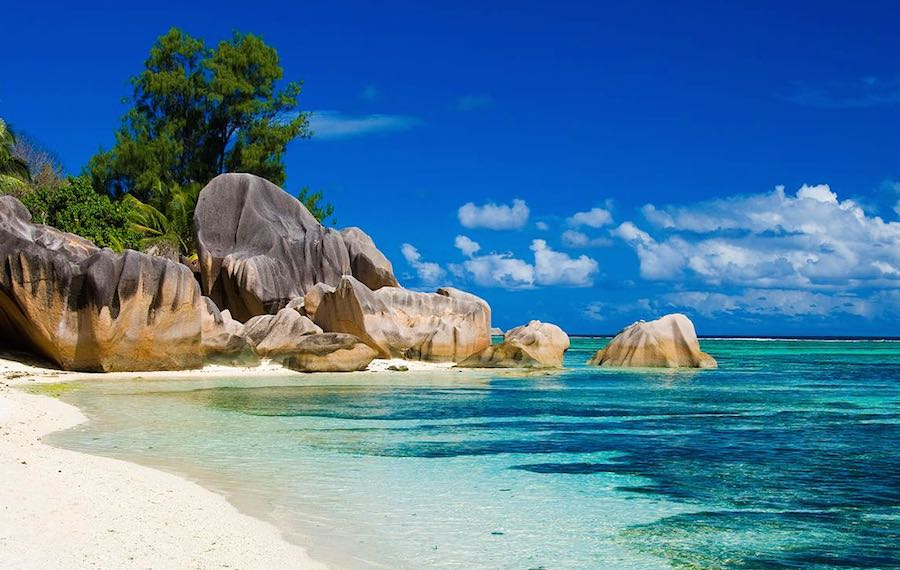 La Digue Seychelles Islands