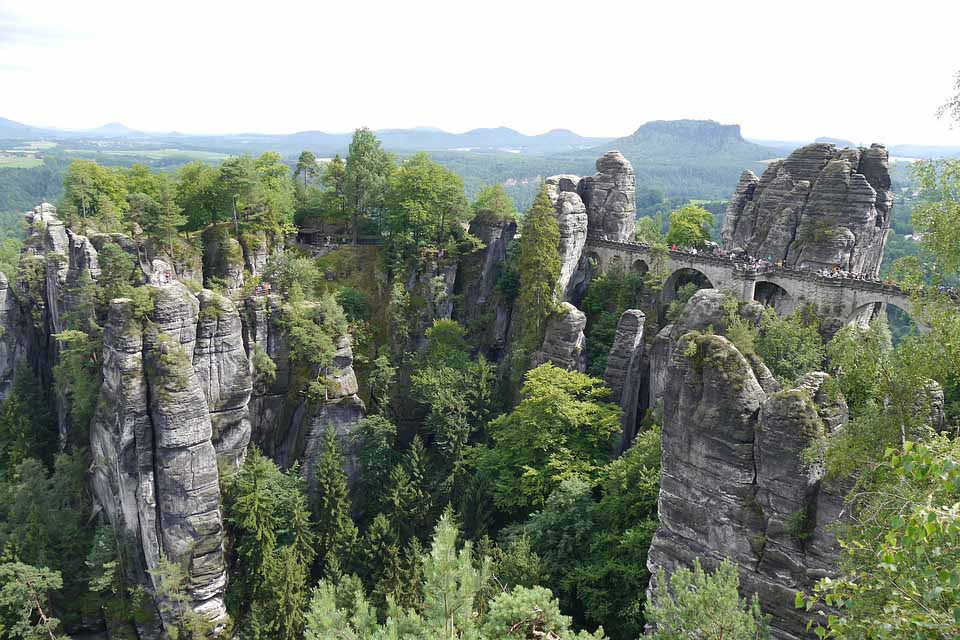 Bastei Bridge Switzerland