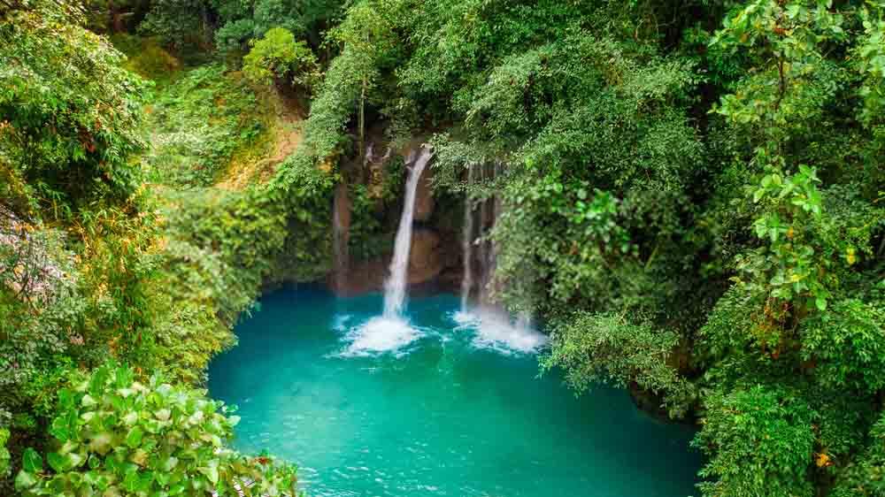 Incredible waterfall of Camiguín