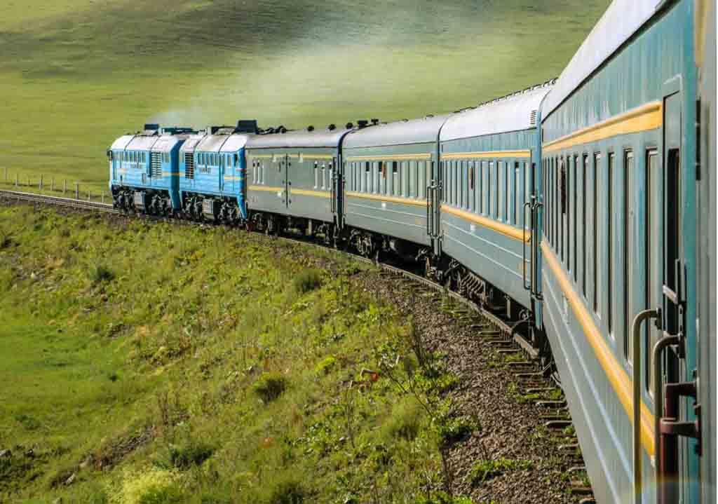 Trans-Siberian Train Route