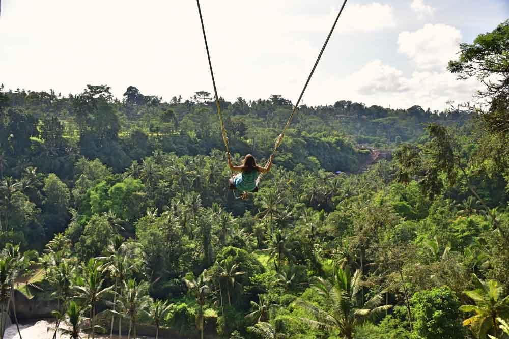 Swings in Bali