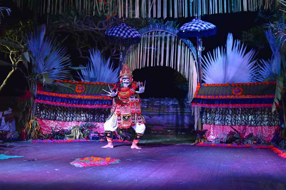 Balinese traditional dance