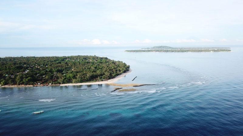 Gili Islands Bali Air View