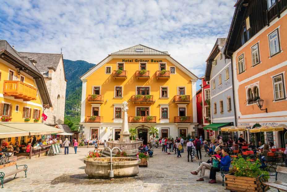 The Market Square Hallstatt